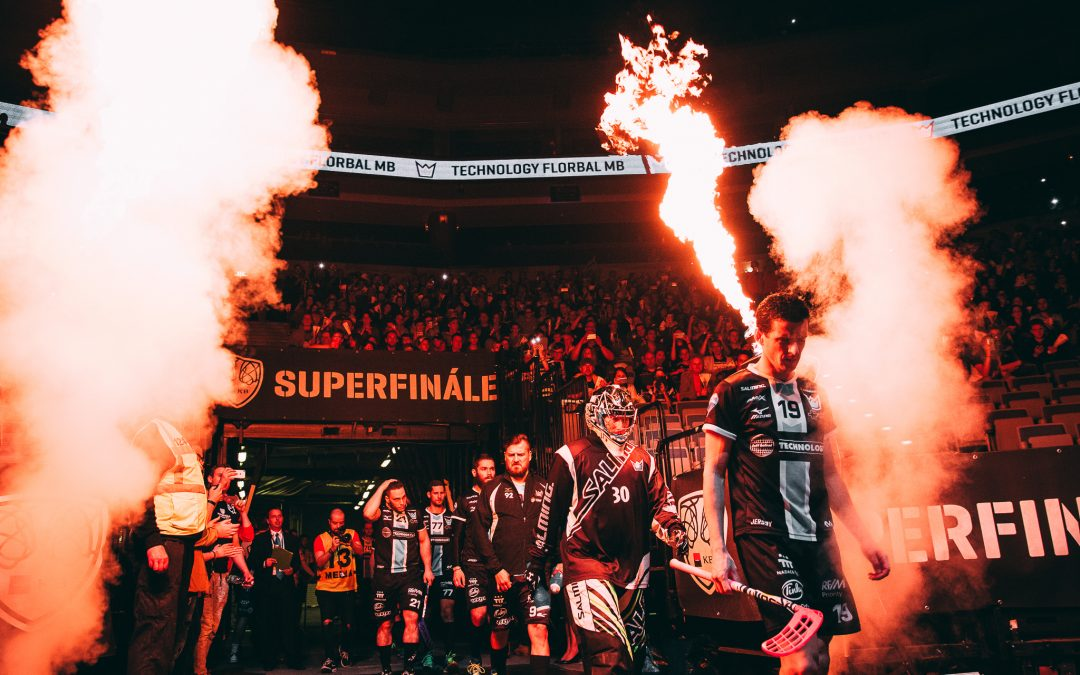 SUPERFINÁLE 2017 florbalové Superligy mužů